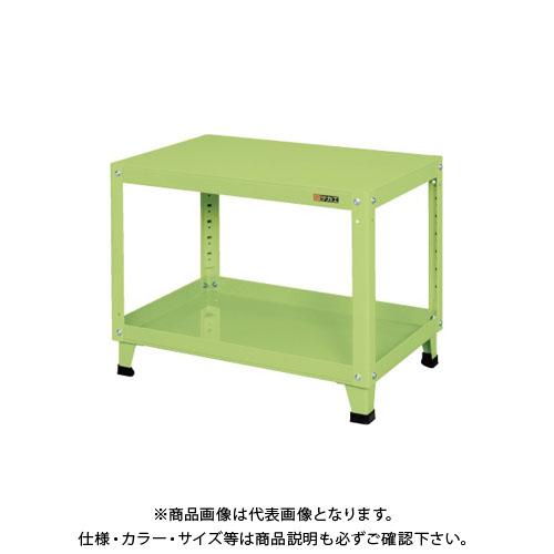 【直送品】サカエ スーパーワゴン 固定タイプ KN-206