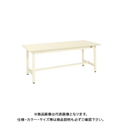 【直送品】サカエ 軽量作業台KSタイプ(スチールカブセ天板仕様) KS-187HCI