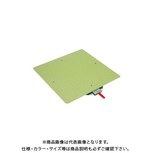 【直送品】サカエ クルクル回転盤・スチール製・スチール天板 KS-60ST