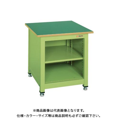 【直送品】サカエ 一人用作業台・中量固定式 KT-102N