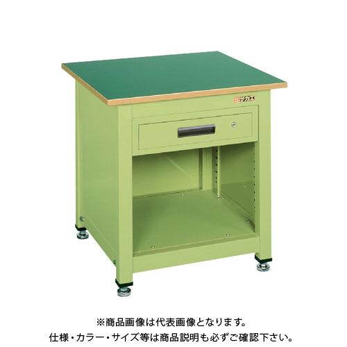 【直送品】サカエ 一人用作業台・中量固定式 KT-111N