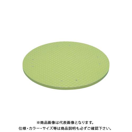 【直送品】サカエ クルクル回転盤・縞鋼板天板 KUS-600ST