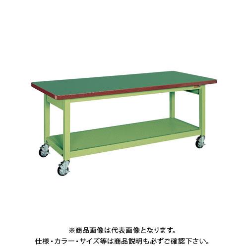 【直送品】サカエ 重量作業台KWBタイプ移動式 KWBF-158