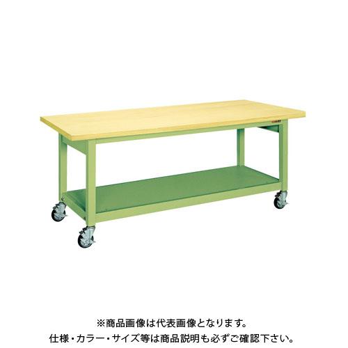 【直送品】サカエ 重量作業台KWBタイプ移動式 KWBG-128