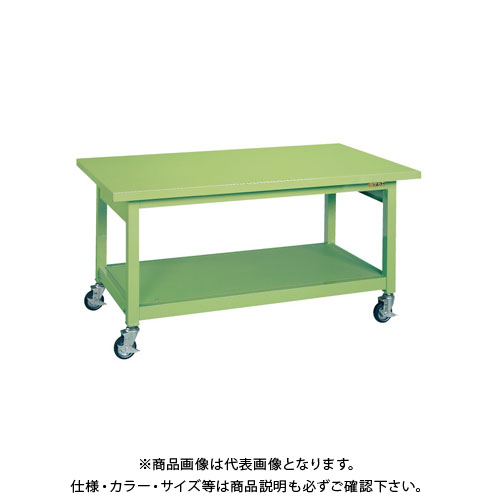 【直送品】サカエ 重量作業台KWBタイプ移動式 KWBS-128