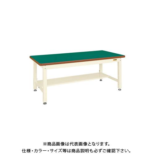 【直送品】サカエ 重量作業台KWタイプ中板1枚付 KWF-188TNI