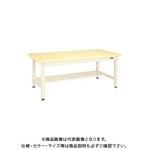 【直送品】サカエ 重量作業台KWタイプ中板1枚付 KWG-128TNI