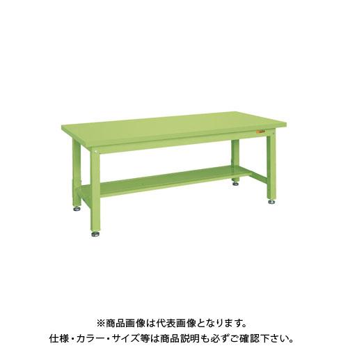 【直送品】サカエ 重量作業台KWタイプ中板1枚付 KWS-158T