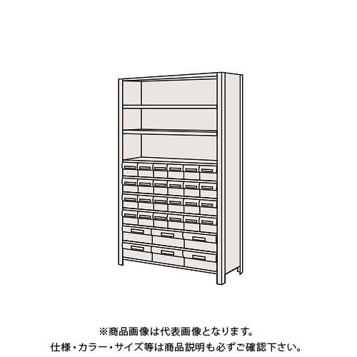 【運賃見積り】【直送品】サカエ 物品棚LEK型樹脂ボックス LWEK1110-30T