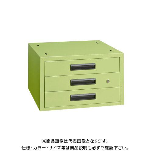【直送品】サカエ 作業台用オプションキャビネット NKL-33B