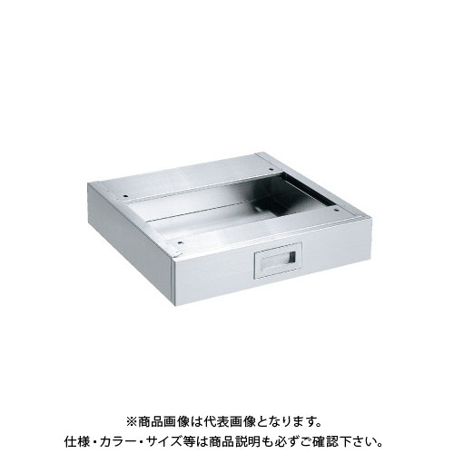 【直送品】サカエ ステンレス作業台 オプションキャビネット NKL4-10SUNA