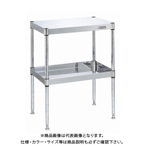 【直送品】サカエ ステンレスニューパールワゴン(固定タイプ) PKN4-02SUM