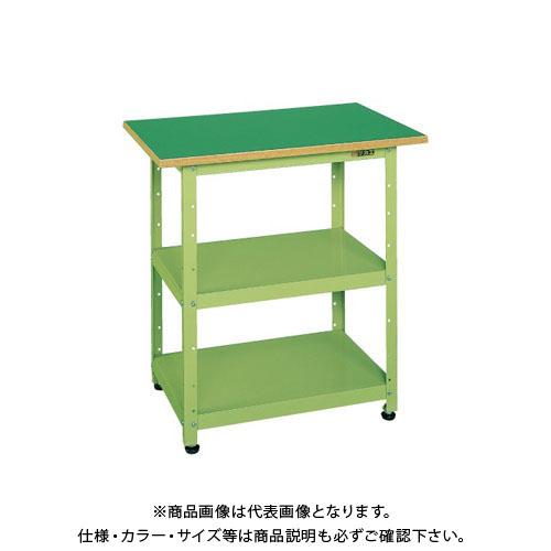 【直送品】サカエ 一人用作業台・軽量固定式 PHN-075