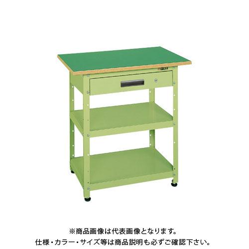 【直送品】サカエ 一人用作業台・軽量固定式 PHN-075A