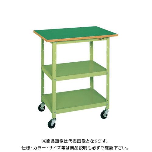 【直送品】サカエ 一人用作業台・軽量移動式 PHR-075