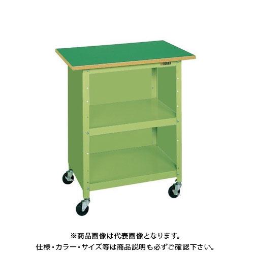【直送品】サカエ 一人用作業台・軽量移動式 PHR-075P