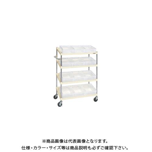 【直送品】サカエ ボックスワゴン PIR-04DTI