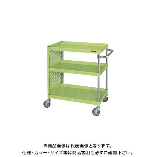 【直送品】サカエ ニューパネルワゴンパンチングパネル付 PKR-200MSP