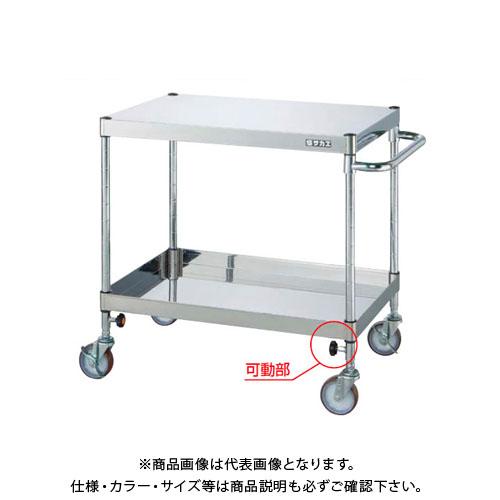 【直送品】サカエ ステンレスニューパールワゴン PKR4-02SUTA