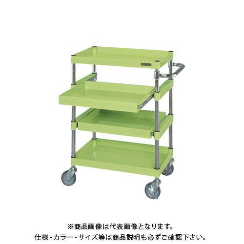 【直送品】サカエ ニューパールワゴンスライド棚タイプ PMR-4A