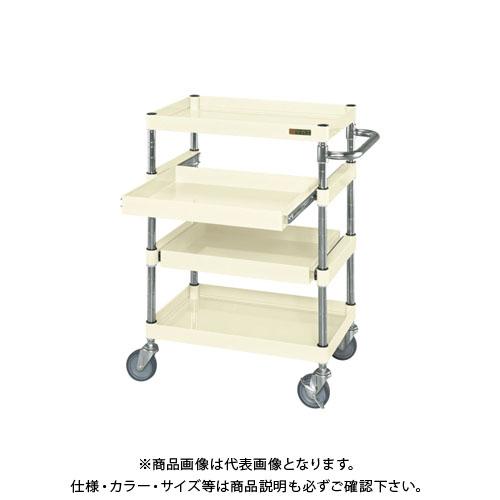 【直送品】サカエ ニューパールワゴンスライド棚タイプ PMR-4AI