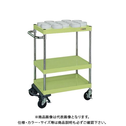 【直送品】サカエ ツーリングワゴンニューパールタイプ(フットブレーキ付) PMR-S21MBRA