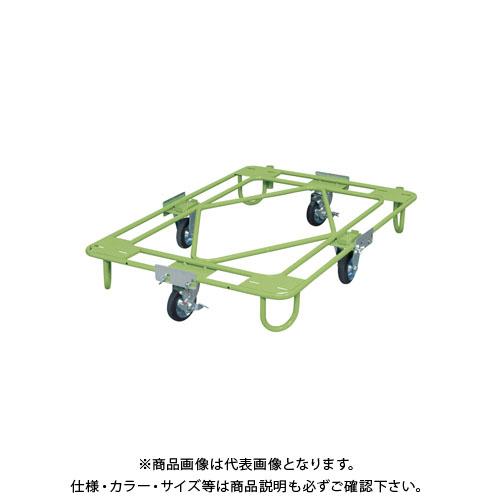 【直送品】サカエ 自在移動回転台車 RA-3G