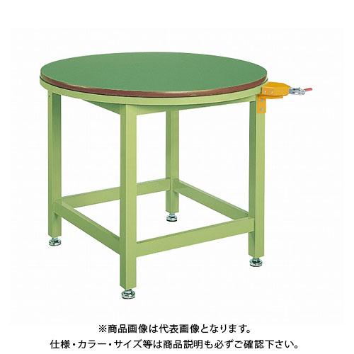 【直送品】サカエ 回転作業台(ストッパー付) RT-900FSP