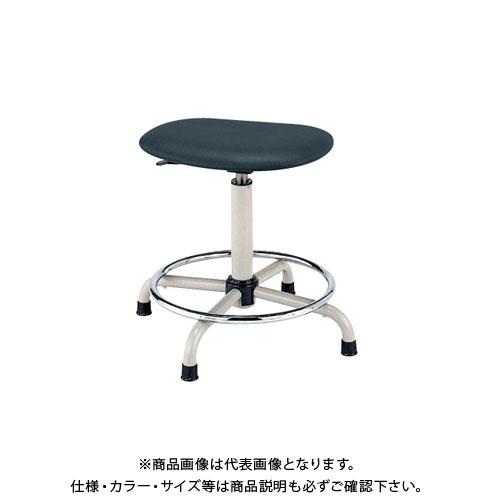 【直送品】サカエ ワークチェアー S3P-BKN