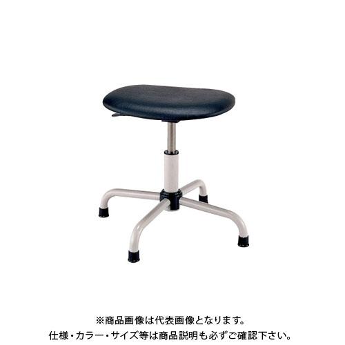 【直送品】サカエ ワークチェアー S4P-BKN
