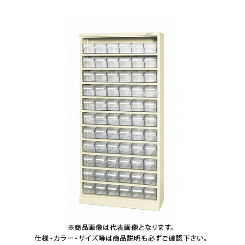 【直送品】サカエ コンテナラックケース(パーツボックス付) SCR-18JI