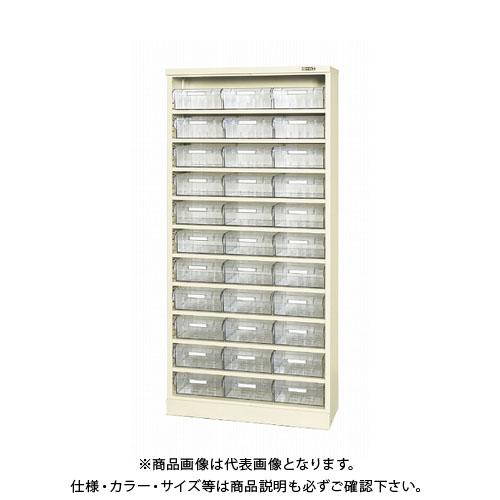 【直送品】サカエ コンテナラックケース(パーツボックス付) SCR-18KI