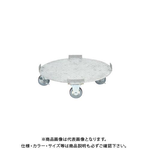 【直送品】サカエ ステンレス 円形ドラム台車 SDR-5