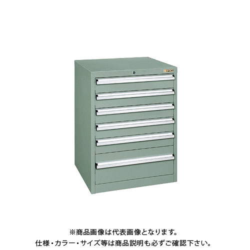 【直送品】サカエ 重量キャビネットSKVタイプ SKV6-861ANG