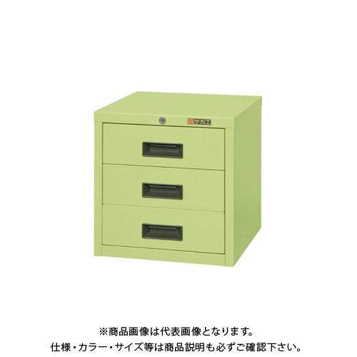 【直送品】サカエ 軽量キャビネットSNCタイプ SNC-3
