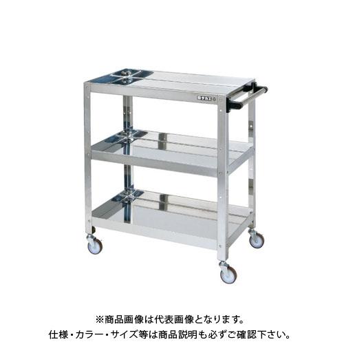 【直送品】サカエ ステンレススペシャルワゴン SPJ4-03TSU