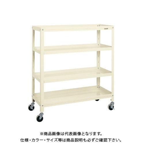【直送品】サカエ スーパーラックワゴン SPR-1124RNUI