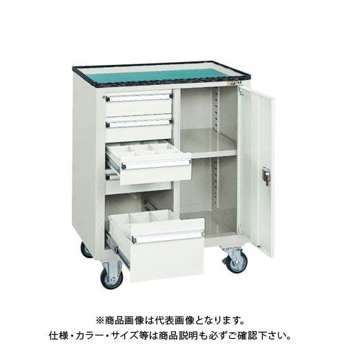 【直送品】サカエ キャビネットワゴン SS-ABGY