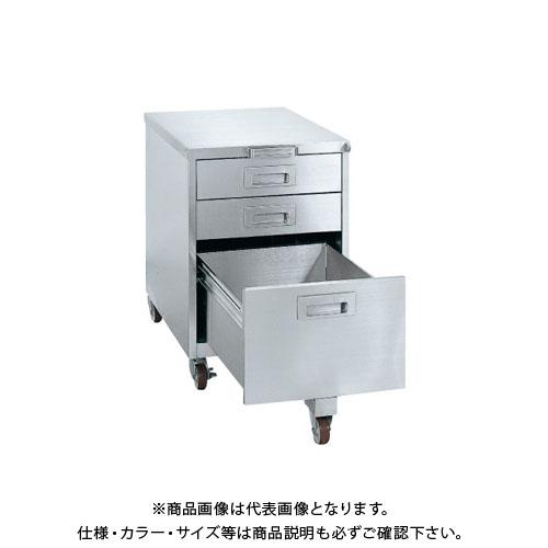 【直送品】サカエ ステンレス キャビネットワゴン SS-EC