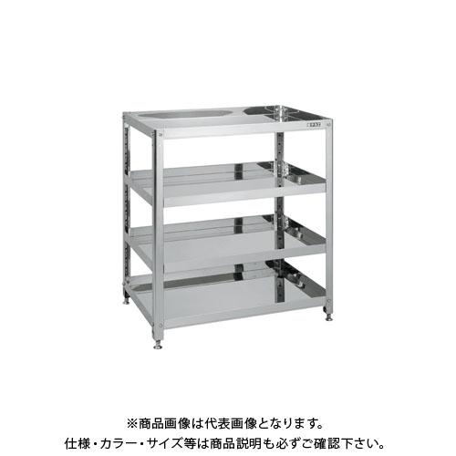 【直送品】サカエ ステンレススーパースペシャルワゴン SSW-446NSU4