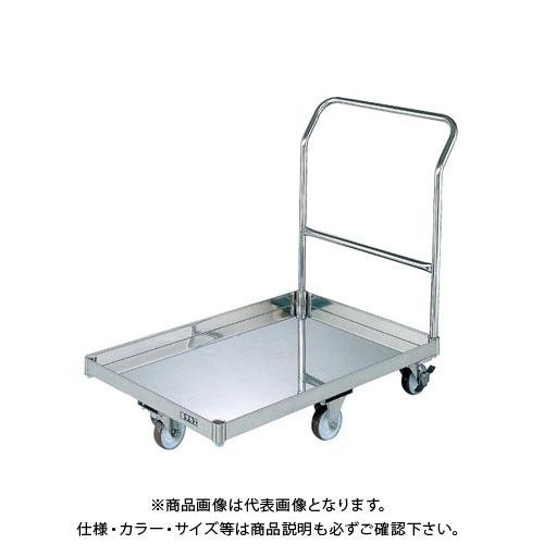【直送品】サカエ ステンレスパール台車 SUQ-G1CSS