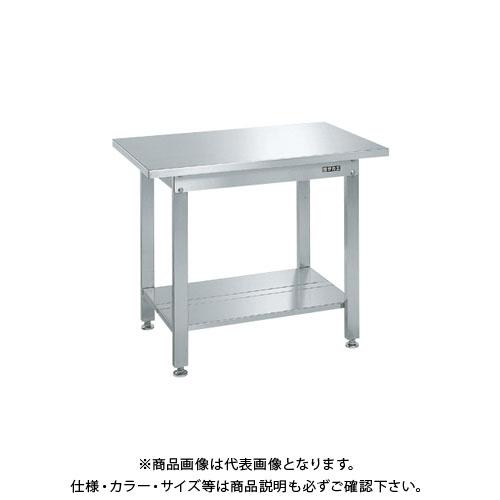 【直送品】サカエ ステンレス作業台・中板2枚付 SUS3-096T2N