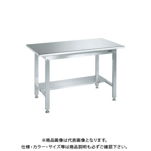 【直送品】サカエ ステンレス作業台(天板R付)・中板1枚付 SUS3-096TR