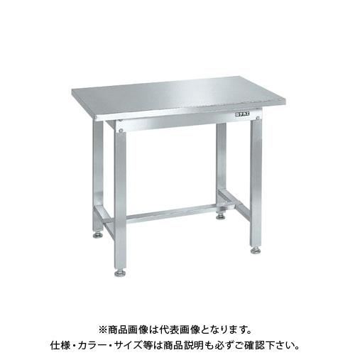 【直送品】サカエ ステンレス作業台(ステンレスカブセ天板) SUS4-096HC