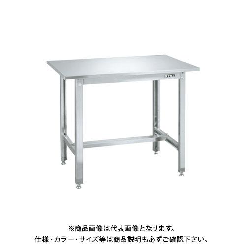 【直送品】サカエ ステンレス作業台 SUS4-126LCN