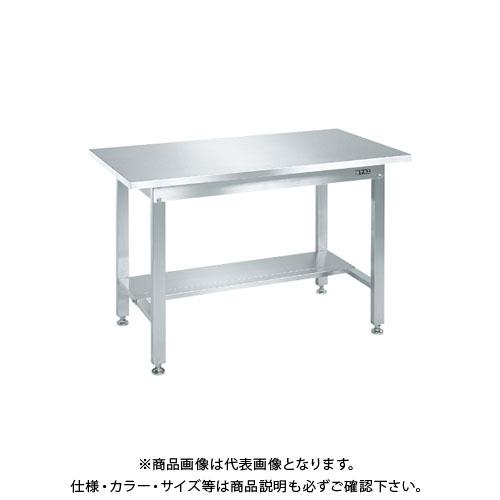 【直送品】サカエ ステンレス作業台・中板1枚付 SUS3-126TN
