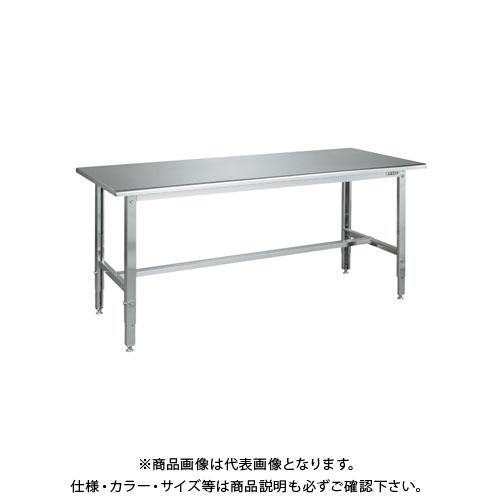 【直送品】サカエ ステンレス高さ調整作業台 R天板仕様 SUT3-187RC