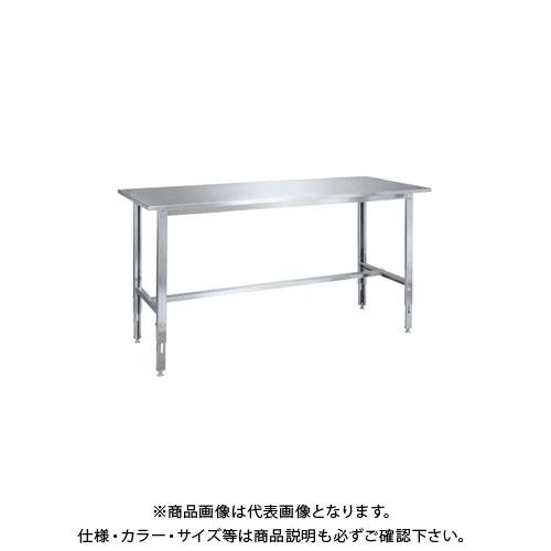 【直送品】サカエ ステンレス高さ調整作業台 SUT4-187LCN