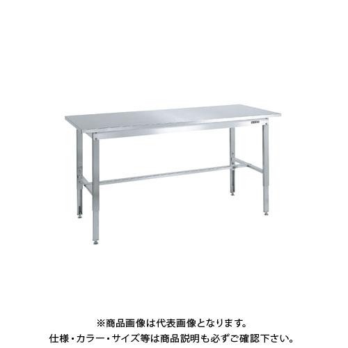 【直送品】サカエ ステンレス高さ調整作業台 SUT4-189N