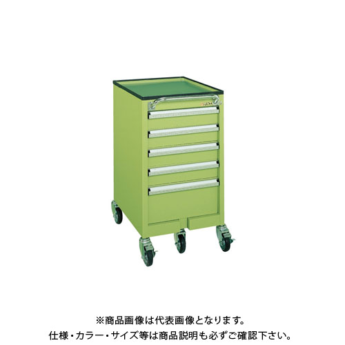 【直送品】サカエ 重量キャビネットワゴン SW-5